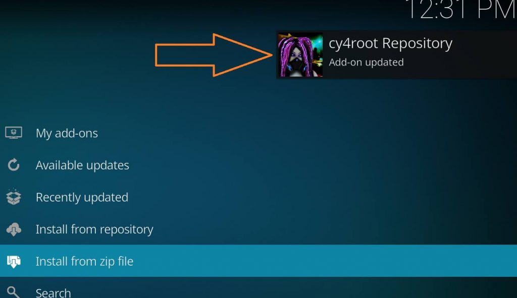cy4root repository add-on updated