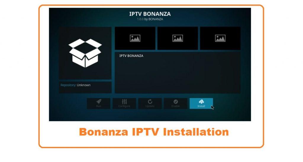 iptv bonanza kodi live tv addon 9