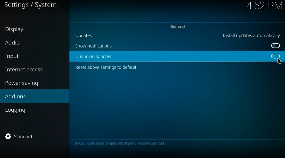 how to install seren addon on kodi