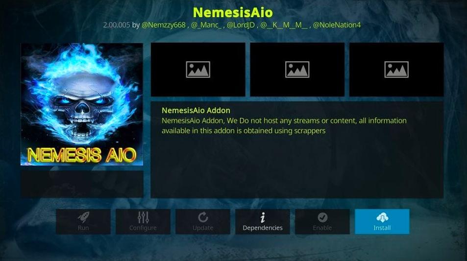Install NemesisAIO