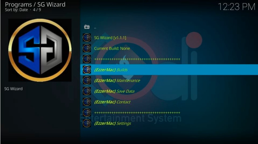 How to Install SG Wizard Build on Kodi in Easy 2 Steps