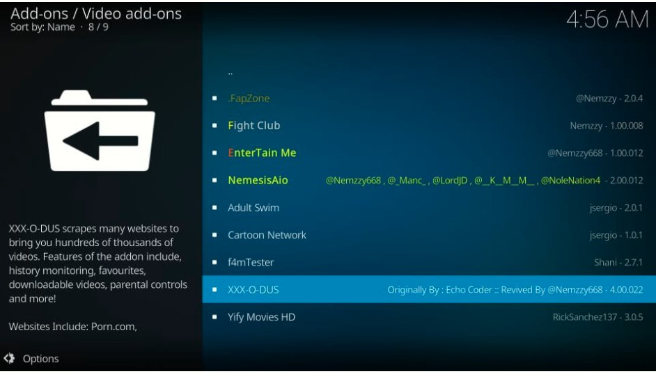 How to install XXX-O-DUS Porn Addon on Kodi in Easy Steps 2021