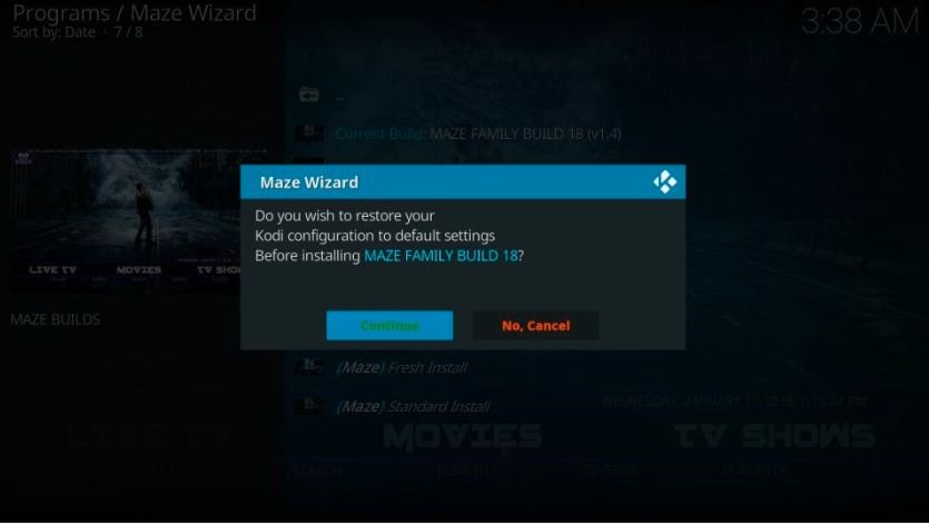 How to Install Maze Build on Kodi in Easy 2 Steps