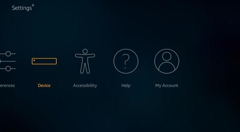 deice option under settings