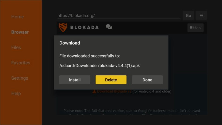 How to install Blokada ads blocker on Firestick in Easy Steps 2021