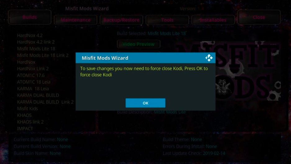 How to Install Misfit Mods Lite Build on Kodi in Easy Steps 2021