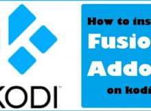 How to Install fusion Addon on kodi In 3 Easy Steps