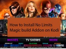 How to Install No Limits Magic build Addon on Kodi