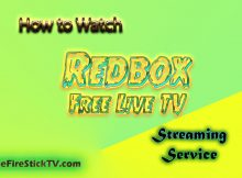 How to Watch Redbox Free Live TV in Easy Steps 2021