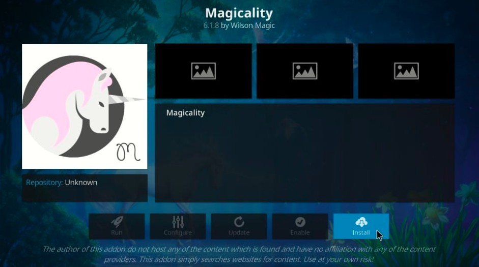 install magicality