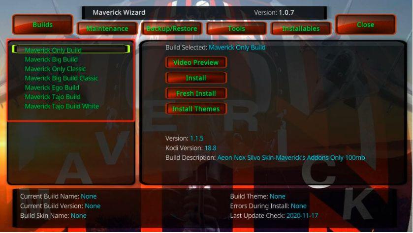 How to Install Maverick Build on FireStick/Kodi in Easy 2 Steps