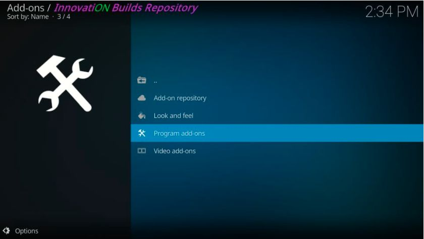How to Install Innovation Build on Kodi in Easy 2 Steps
