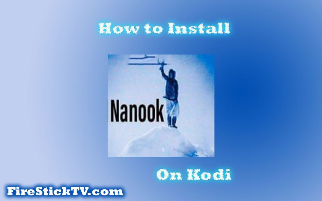 How to Install Nanook Addon on Kodi in Easy Steps 2021