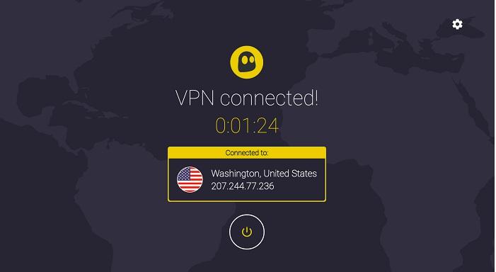 VPN connected