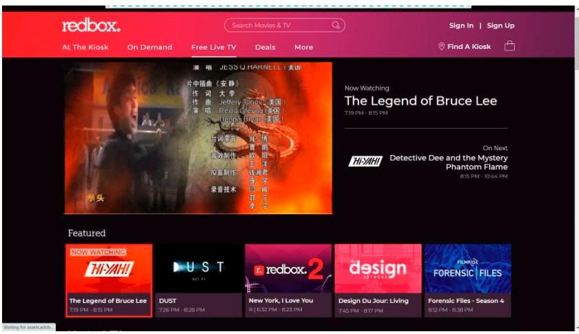 Redbox Free Live TV (Free)
