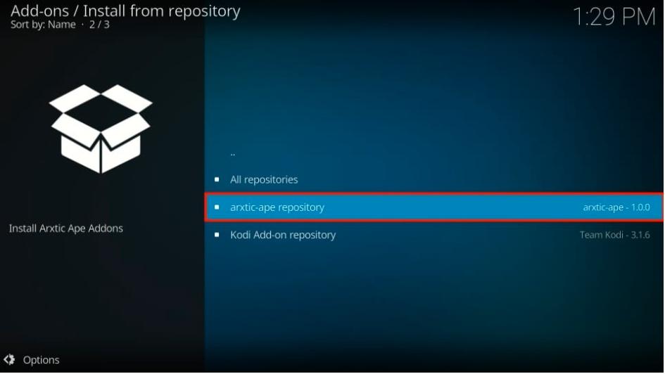 Arxtic-ape repository