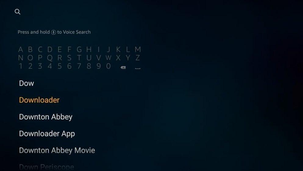 downloader app search