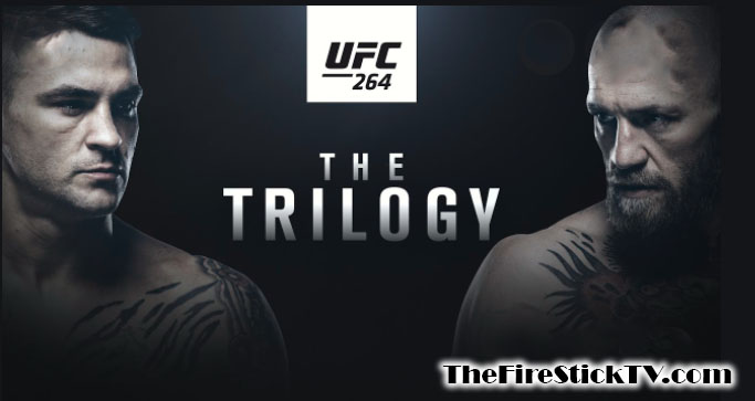How to Watch UFC 264 on FireStick for Free - UFC 264 Fight Pass