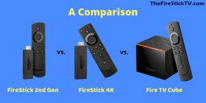 Read more about the article [ Fire TV Devices ] FireStick vs. FireStick 4K vs. Fire TV Cube – Comparison