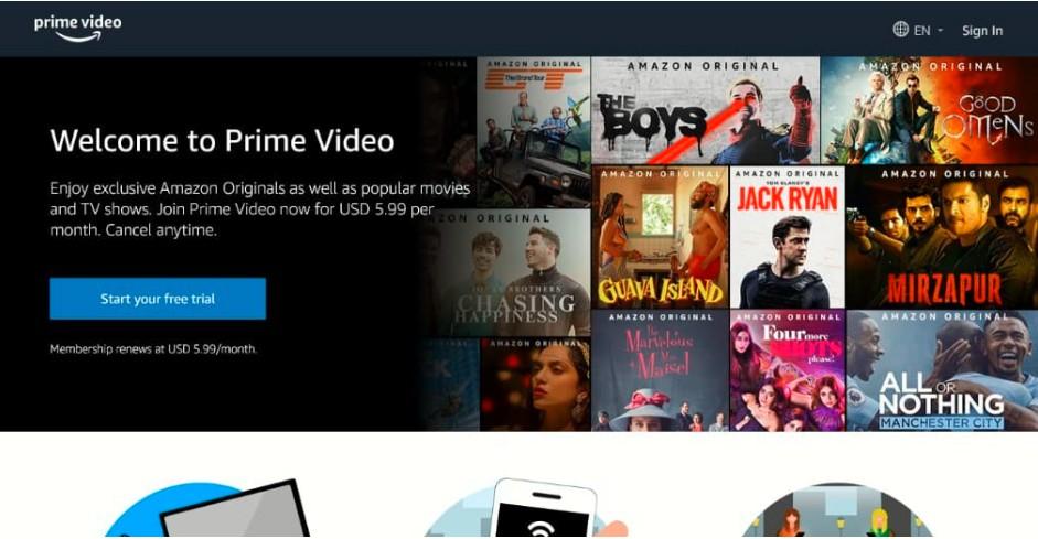 . Amazon Prime