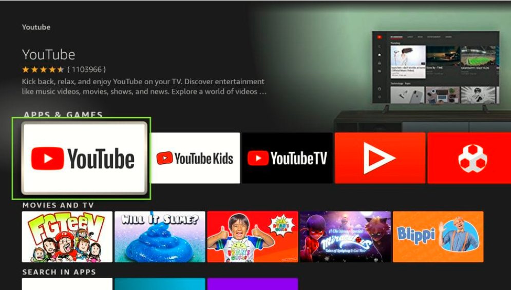 How to Install Official YouTube on FireStick in Easy Steps 2021 - Youtube TV