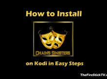 How to Install Chains and Sinister Six Kodi Addon in Easy Steps (2021)