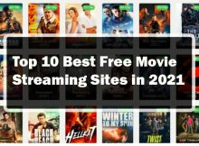 Top 10 Best Free Movie Streaming Sites in 2021