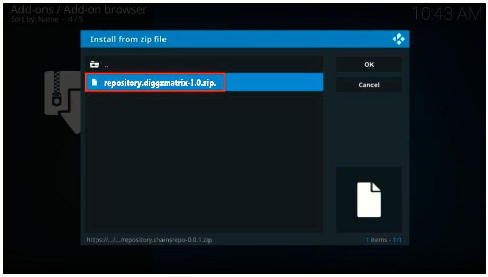 repository install