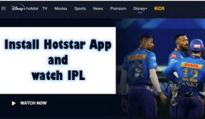 HotStar App Download for Free - Watch IPL